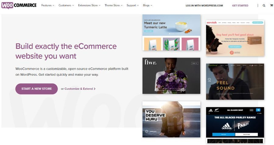 E-commerce and sales solutions